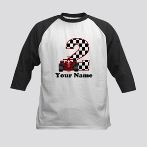 2nd Birthday Race Car Baseball Jersey